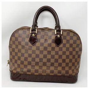 Authentic Louis Vuitton Darmier Alma Satchel Bag
